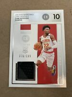 2019-20 Panini Encased Cam Reddish Rookie RC Jersey/patch #d 76/199