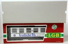 LGB 3172 DB 'Krombacher Pils' G Scale Passenger Car - As New Condition