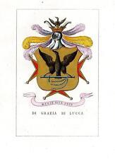 Araldica stemma araldico della famiglia Di Grazia di Lucca