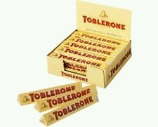 IMPORTED TOBLERONE MILK CHOCOLATES 50 GRAMS - BOX OF 20 PIECES  Gift Pack...