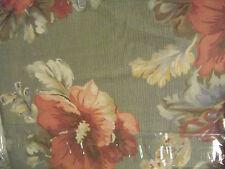 New in Package Ralph Lauren QUEEN Flat SHETLAND MANOR Sheet Floral Sage Green