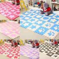 Baby Crawling Puzzle Mat Soft EVA Foam Kids Play Carpet Home Floor Blanket Tool