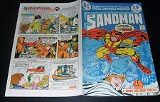THE SANDMAN N.1- DC 1974 (A SIMON AND KIRBY SPECIAL)