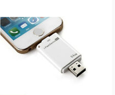 64GB USB i-Flash Drive U Disk 8pin Memory Stick For iPhone 5 5S 6 6 plus 7 7plus