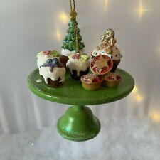 Gisela Graham Christmas Bake Table Cake Cupcake Christmas Tree Decoration