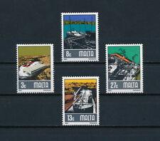 Malta  608-11 MNH, Shipbuilding, 1982