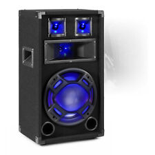 """BS10 Party Speaker 10"""" Passive 400W with Built-in LED Lights Disco Bedroom DJ"""