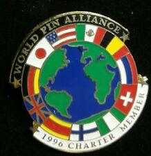 Olympic Pin: Atlanta Olympic Pin 1996 World Pin Alliance Charter Member Pin 1996