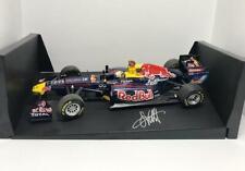 Minichamps 1/18 Scale diecast Signed Sebastian Vettel F1 Red Bull Racing RB7 Car