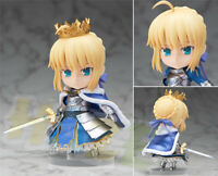 "Nendoroid Fate Stay Night Saber Arthur Pendragon PVC Action Figure 4"" In Box Toy"