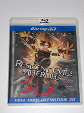 RESIDENT EVIL Afterlife 3D Blu-ray - very good condition usa/can
