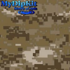 Hydrographics My Dip Kit FILM REFILL DIGITAL CAMO Hydro dipping DESERT MC-821