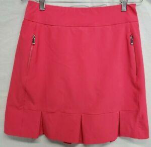 Tail Golf Skort Size 2 Dark Pink womens Skirt-Look