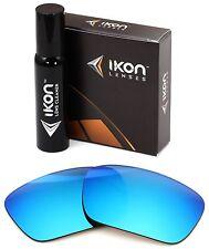 Polarisé Ikon Iridium Verres de Rechange pour Oakley Fuel Cell Bleu Glace Miroir