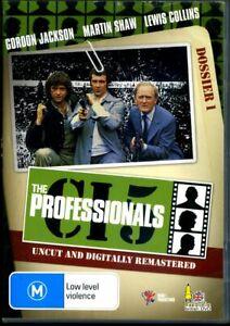 The Professionals CI5 Dossier 1 - DVD - Region 0 - FAST POST