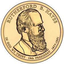 USA: 1 dolar 2011 D - (19 th president Rutherford B. Hayes 1877-1881)