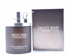 Yacht Man Chocolate Cologne Perfume For Men 100 ml 3.4 oz Edt Spray by Myrurgia