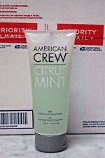 Case Of 12 American Crew Citrus Mint Gel. High Hold. 200ml. NEW. FREE SHIPPING..