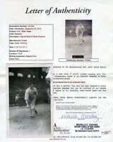 RED FABER JSA Coa Autograph Vintage Postcard Hand Signed Authentic