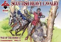 Red Box 1/72 72056 Scottish Heavy Cavalry (Set 11, War of The Roses)