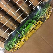 New Real Justin Ramondetta Aftermath Skateboard Deck - 32.25in x 8.38in
