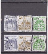 Germany Michel 913C, D, 914C,D & 1038C -1038D used