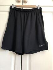 Nike Dri Fit Mens Black Shorts Size M