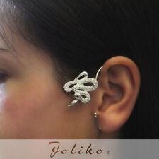 JoliKo Ohklemme Ear cuff Python Schlange Knoten Snake Knot Viper Unisex RECHTS