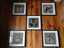 SOUGHT-AFTER! 5 x Shepard Fairey Obey FRAMED - AP Edition of 2 + COA/ Street Art