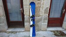 SNOWBOARD ALPINE FREECARVE GENERIC 161 + EMERY BINDING  ALPIN CARVING SURF