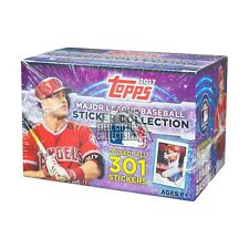 2017 Topps MLB Baseball Sticker Collection 50ct Box
