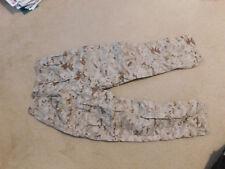 USMC MARPAT MCCUU DESERT INSECT REPELLENT  PANTS  SIZE 32S