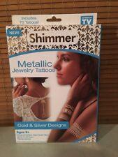 Shimmer Metallic Jewelry Tattoos