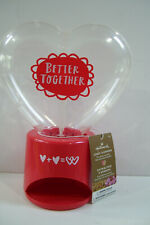 """Hallmark Candy Dispenser, """"Better Together"""" Heart Shape Empty Candy Not Included"""