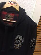 Da Uomo/ragazzo casual maglione invernale con cappuccio da ring-spun Taglia Small del Regno Unito EUR Medium