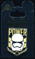 Star Wars The Force Awakens Storm Trooper Power First Order Disney Pin 111127