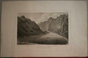 TSCHITSSCHAGOFF BAY NUKU HIVA MARQUESAS 1850 TSCHESKY UNUSUAL ANTIQUE VIEW