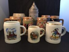 German Tankards Mugs Steins Switzerland Made In Japan Beer