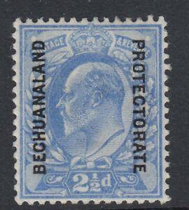 BECHUANALAND-1904-13 2½d Ultramarine Sg 69 MOUNTED MINT