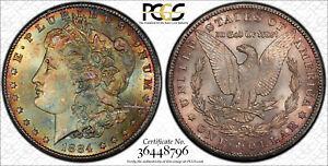 MONSTER TONER 1884 CC PCGS CAC MS65 Morgan silver dollar, TrueView dual side