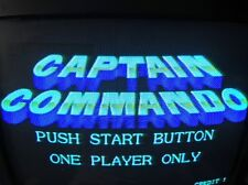 Captain Commando CPS1 Jamma board (PCB )for Arcade 100% Working & Good condition