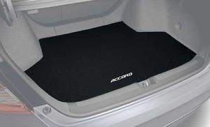 Genuine Honda Black Carpeted Trunk Mat Fits: 2018-2021 Accord and Hybrid