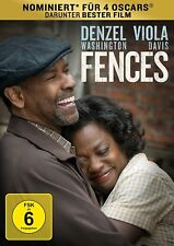 FENCES (Denzel Washington, Viola Davis) NEU+OVP
