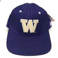 Washington Huskies Baseball Hat Fitted Cap 7 1/4 Mens Adult NCAA College New Tag