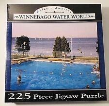 "Nib Relax ~ America 225 Piece Jigsaw Puzzle ""Winnebago Water World New Sealed"