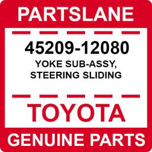 45209-12080 Toyota OEM Genuine YOKE SUB-ASSY, STEERING SLIDING
