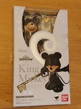 Kingdom Hearts II (2) Rey Mickey S.H. Figuarts-Nuevo y Sellado