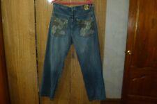 SouthPole SP Jeans Denim Hip Hop Rap 90s 2Pac Biggie Vintage Men Size 42 42/34