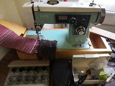 Alfa Heavy Duty Semi Industrial Tela De Tapicería y bordado máquina de coser
