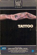 Tattoo (BETA/Betamax Big Box) 1980 Bruce Dern, Maud Adams